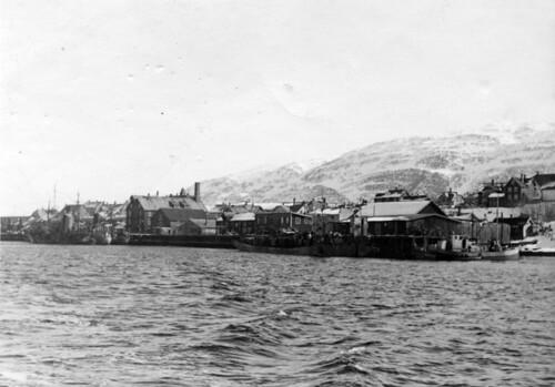 Kaianleggene i Sandnessjøen