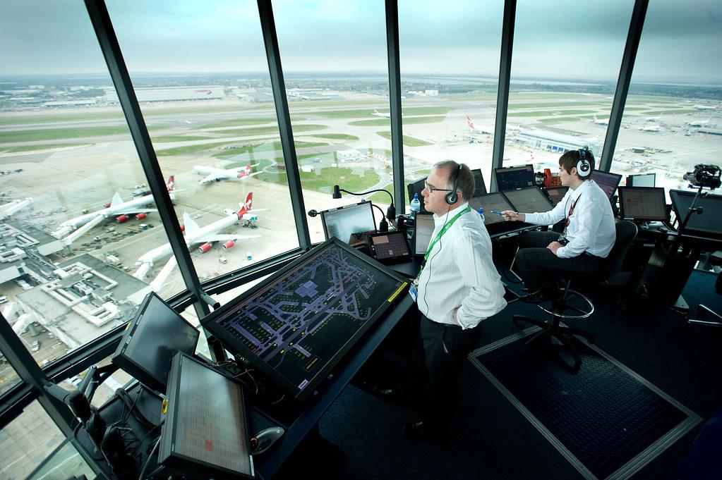 Inside Heathrow Air Traffic Control Tower