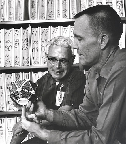 Argo Harold with James Coon and Vela satellite model