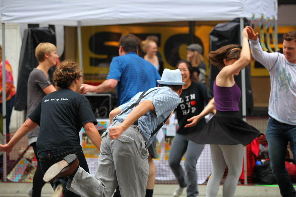 Swing Dancing on Granville Street | GoToVan | Flickr