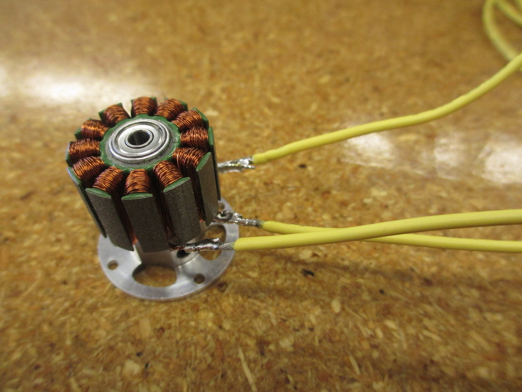 Waterproofing a Brushless motor for Open ROV | openrov com g… | Flickr