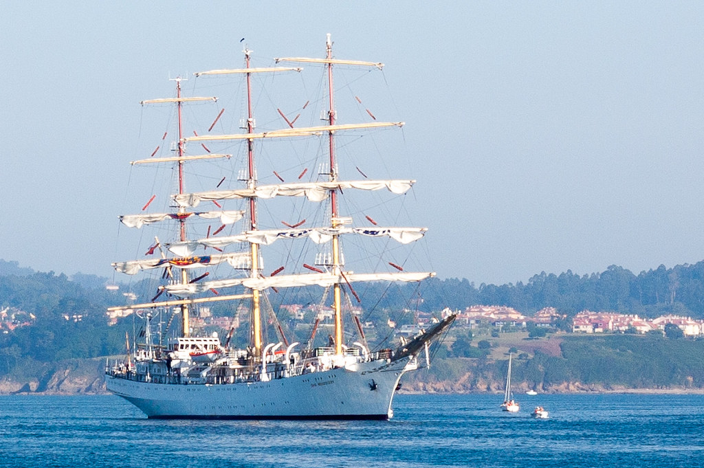 Tall Ships Races A Coruña 2012 Dar Mlodziezy Los Grandes Flickr