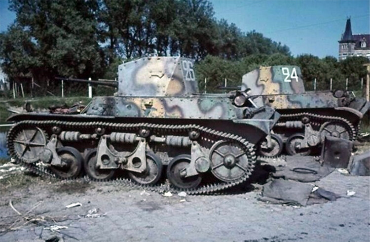 AMR-35 tanques