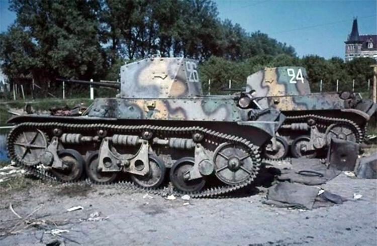 AMR-35 kampvogne
