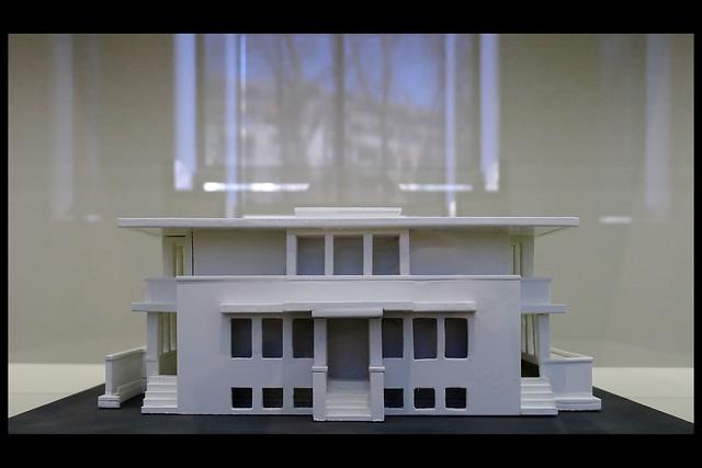 huis ter heide villa henny maquette 01 1919 v t hoff r (gemeentemuseum den haag 2012)