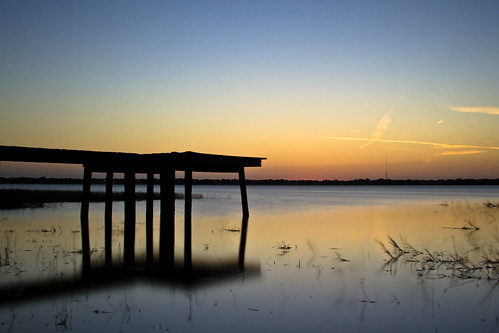 sunset usa lake reflection nature water canon relax photography pier dock long exposure quiet florida being central calm well fl quietness wellness auburndale