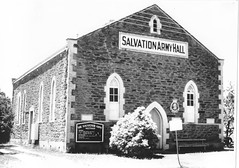 Salvation Army Hall - built 1884 and demolished 1973