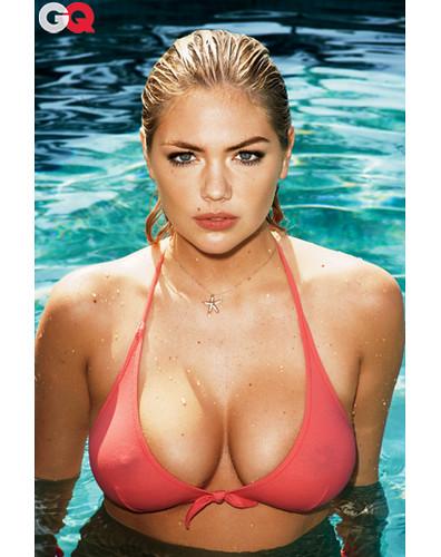 Upton topless kate Kate Upton