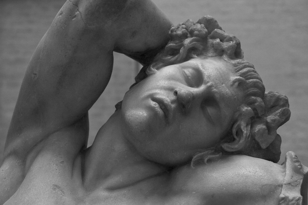 The Barberini Faun IV