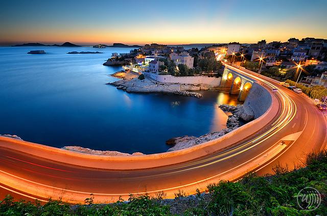 Corniche John Fitzgerald Kennedy, Marseille