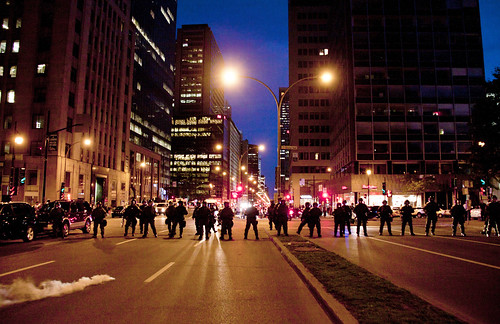 Montreal protest | by le calmar