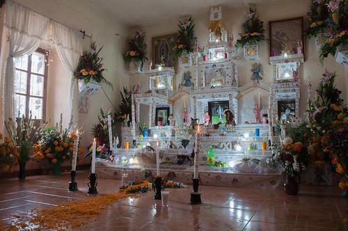 Altares de Muertos en Puebla