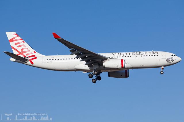 VH-XFC Virgin Australia Airbus A330-200