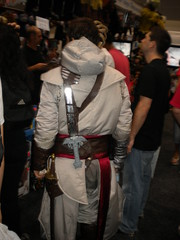 Altair from Assassin's Creed, not blending in.