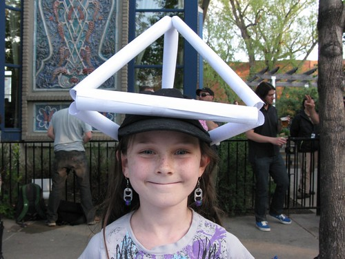 Elise the tetrahedron building whiz | by schweppits