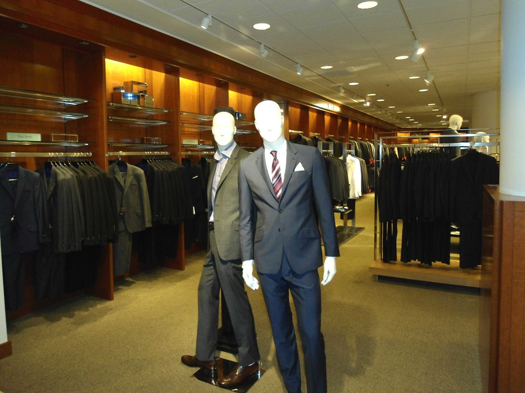 c7c63170 Nordstrom Flagship Downtown Seattle mens department locate… | Flickr