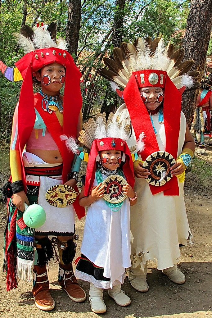 Hopi Festival Dancers Museum Of Northern Arizona Flickr