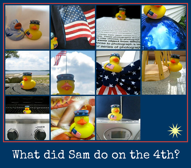 what did a sam ducky do on the 4th of july??