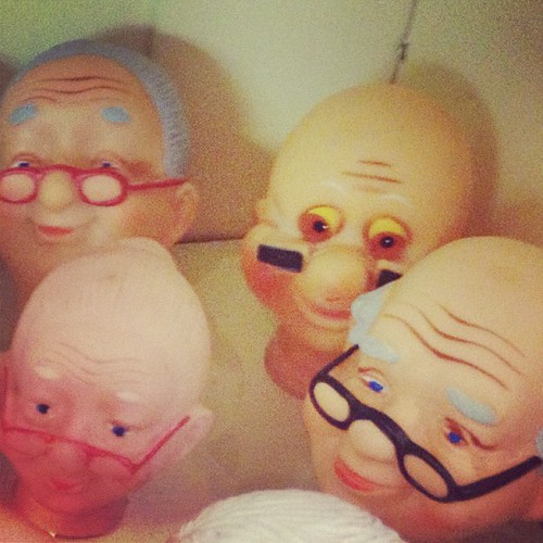 grandpa doll heads | by sarahwulfeck
