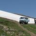 Sněhové pole ve výšce 3000 metrů byla pro UAZ konečnou, foto: Petr Nejedlý