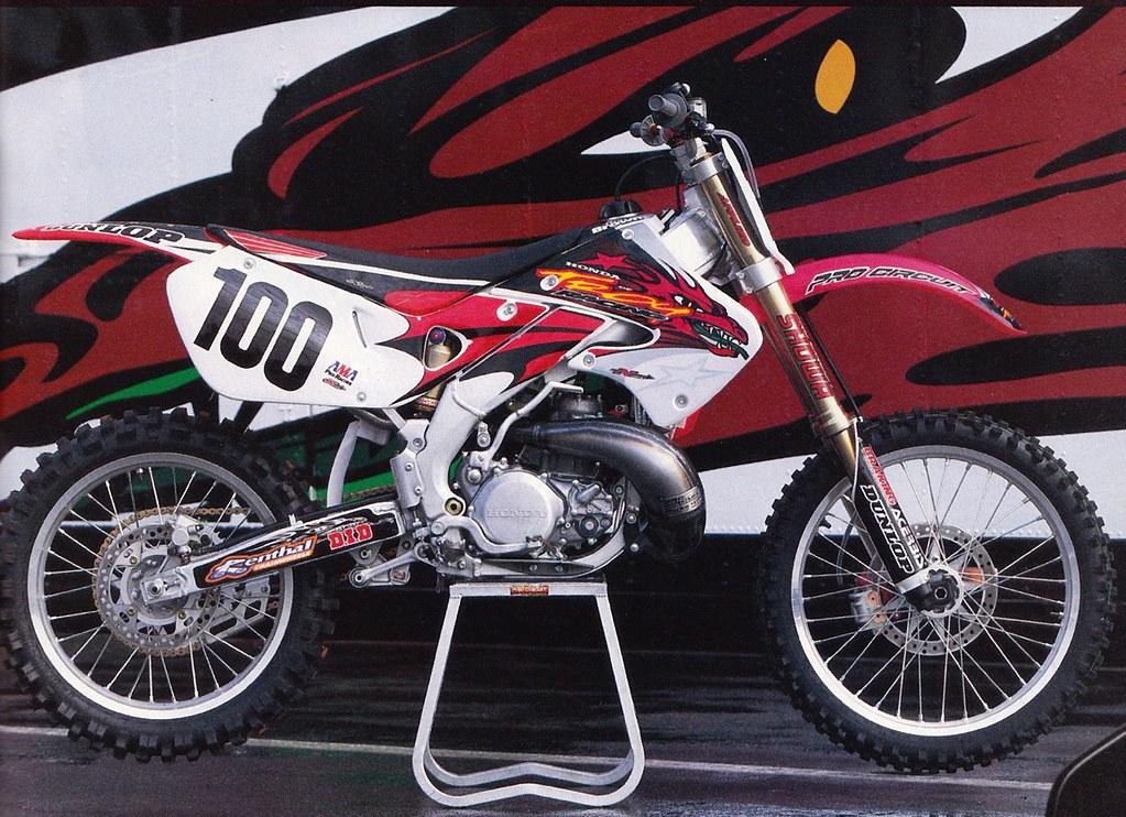 Honda Of Troy >> Mike Kiedrowski S 1997 Honda Of Troy Cr250r Tony Blazier Flickr