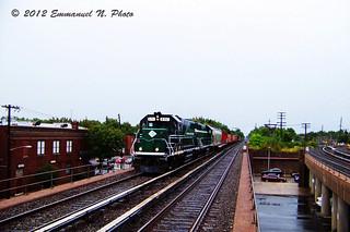 New York Atlantic Railway EMD GP-38 271 at Floral Park | by Emmanuel Nicolas Transit Photography