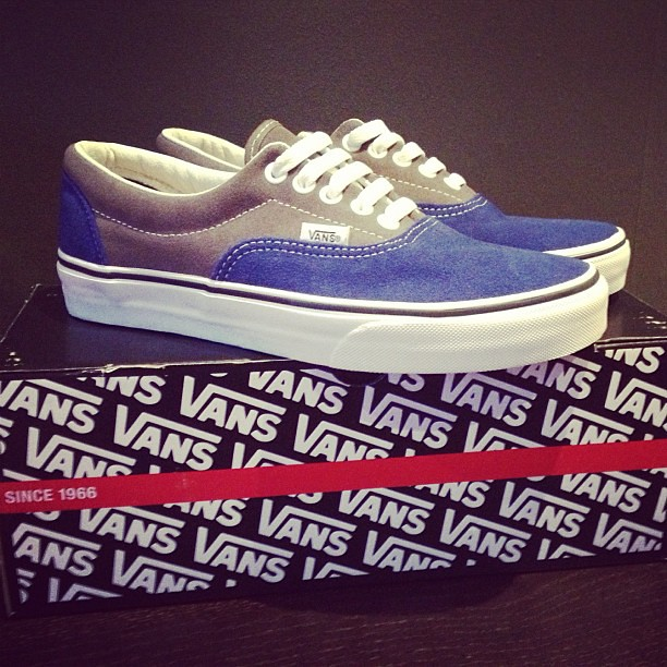 9420c7ebeecb6b New shoes!!  love  my  vans  shoes  shoeaddict  blue  grey…