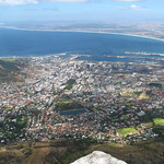 Looking Down Over Cape Town