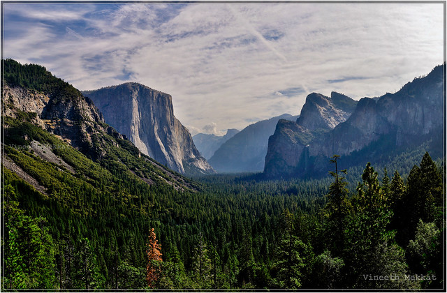 Tunnel View, Yosemite Valley - California