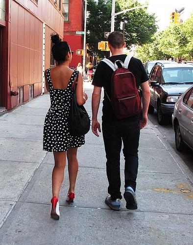 polka dots on Grand Street BK,NY   by james prez
