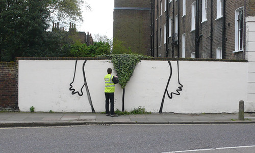 Bush Trimming / Horticultural Bikini Wax by #Banksy | by dullhunk