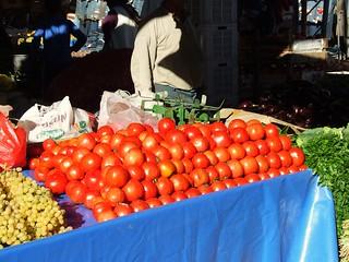 Turkey - Altinkum - Market - Vegetable Stall