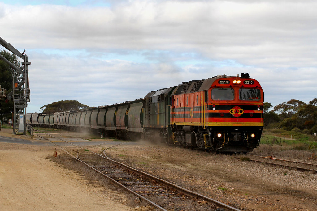 2210 701 3142s Loaded Allawoona Grain Karoonda-A 12 08 2012 by Daven Walters