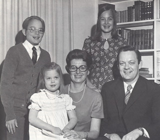 President David Alexander and his wife, Catherine Coleman Alexander, came to Claremont in the summer of 1969, with their children Kitty, 11; John, 9; and Julia, 2.