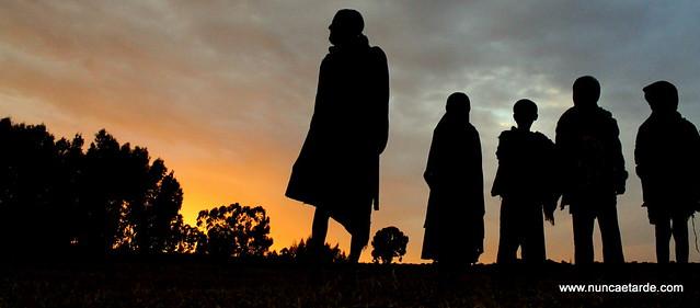 Etiópia amanhecer