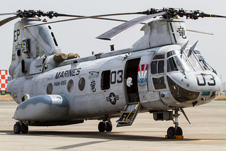 'Dragon 03' - HMM-265's CH-46E | by Ken H / @chippyho