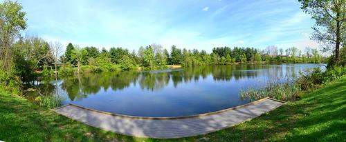Turtle Pond Panorama, Three Creeks Metro Park, Columbus, OH | by Colorray