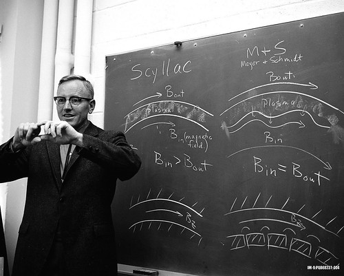 Ribe Fred with SCYLLAC diagram 1968