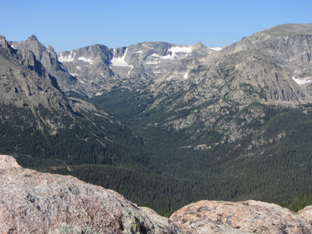View from the Ute Trail
