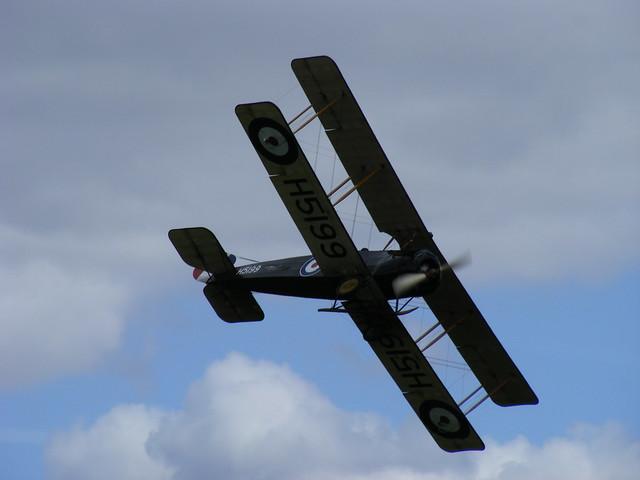 Avro 504K - H 5199 @ Shuttleworth 2009