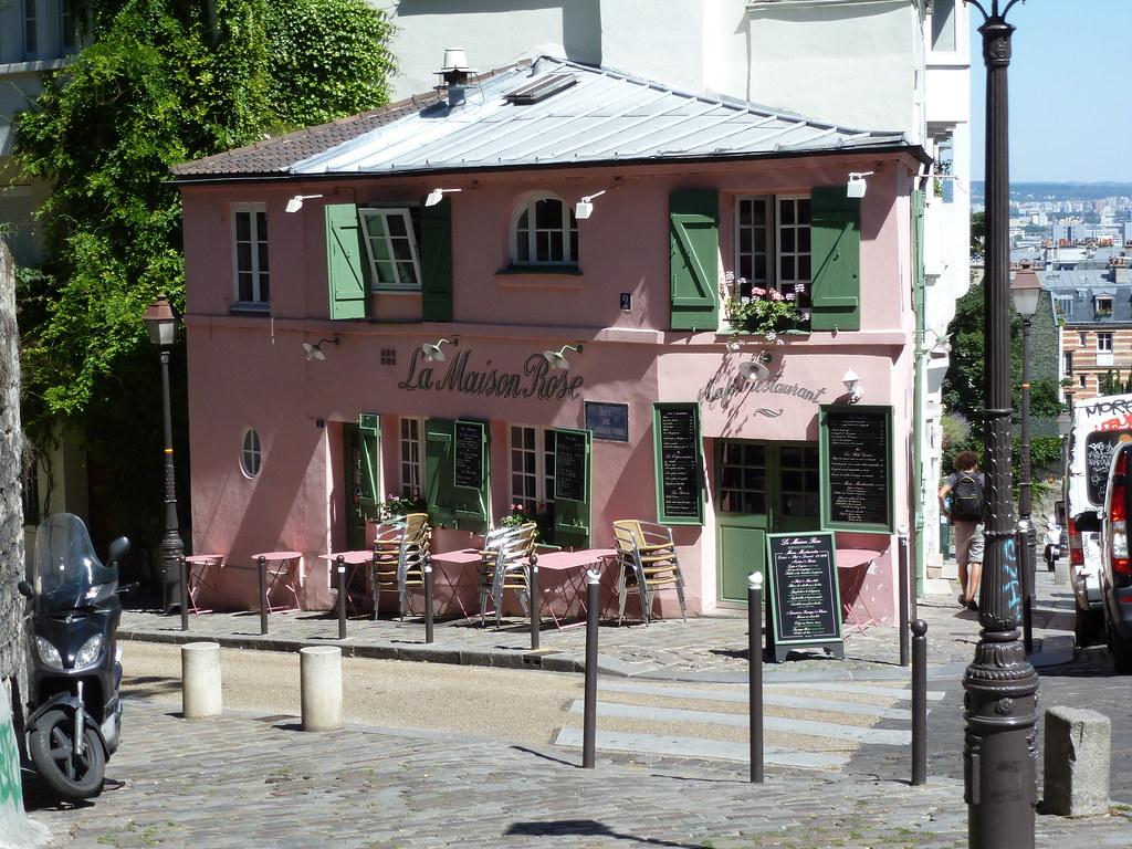 La Maison Rose, Montmartre