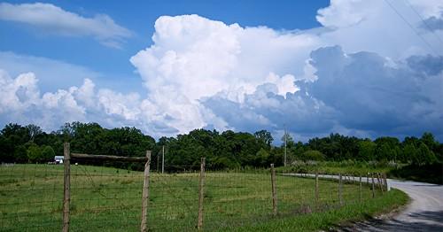 nature clouds georgia landscape