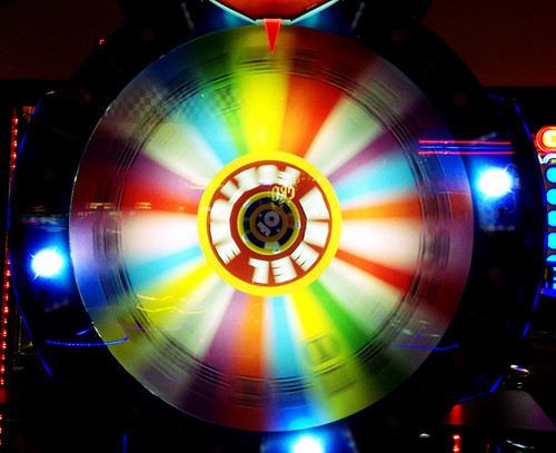 Spinning wheel of fortune | by RoniLoren
