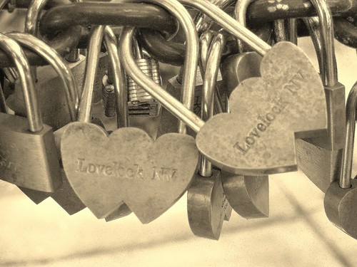 Love Locks from Lovelock, Nevada