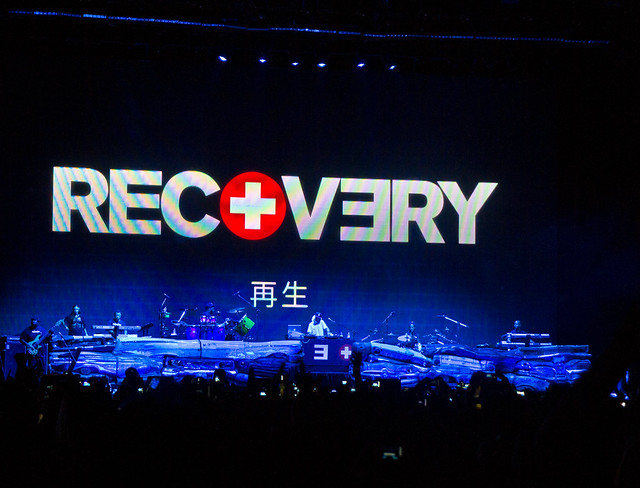 EMINEM THE RECOVERY JAPAN TOUR 2012