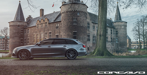 Audi RS6 on CW-S5 Gunmetal | by Concavo Wheels