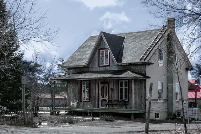 Maison de ferme québecquoise