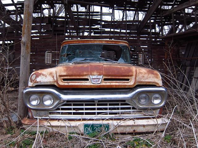 Abandoned Home & Area, Iowa County 3-11-12 73