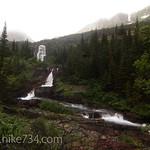 Falls by Mokowanis Lake