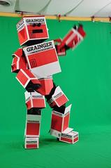 Grainger Box Man Busts a Move